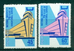 Philippines 1976 National University MUH Lot31706 - Philippines