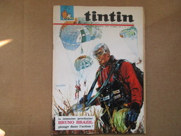 Tintin Le Super Journal Des Jeunes De 7 à 77 Ans  (N° 6 / 1969) 24° Année Édition Belge - Altri