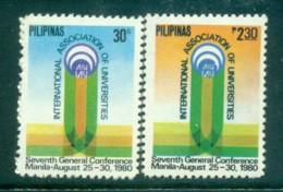 Philippines 1980 Association Of Universities MUH Lot82552 - Philippines
