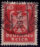 Germany, 1924, German Eagle, 10pf, Sc#332, Used - Germany