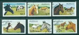 Philippines 1984 Horses CTO Lot31729 - Philippines