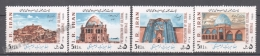 Iran 1986 Yvert 1987A-87D, Preservation Of Cultural Heritage - MNH - Iran