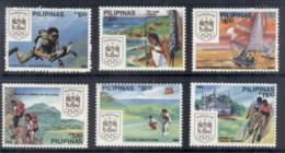 Philippines 1988 Sports & Olympic Emblem MUH - Philippines