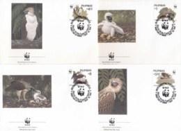 Philippines 1991 WWF Philippine Eagle FDC - Philippines