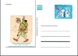 CDV 237 Slovakia Great War 1914-1918 2014 - 1. Weltkrieg