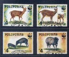 Philippines 1997 WWF Spotted Deer & Warty Pig FU - Philippines