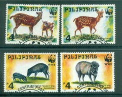 Philippines 1997 WWF Spotted Deer & Warty Pig FU Lot81603 - Philippines