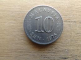 Malaysie  10  Sen  1976  Km 3 - Malaysia