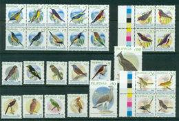 Philippines 2009 Bird Defins 2009A 2nd Print (29) MUH Lot24493 - Philippines