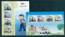 Philippines 2011 Postman Pheepoy 2xMS MUH Lot82558 - Philippines