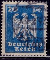 Germany, 1924, German Eagle, 20pf, Sc#333, Used - Germany