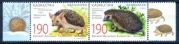 Serie Set  Herissons Hedgehogs Neuf  MNH ** - KAZAKHSTAN 2012 - Kazakhstan