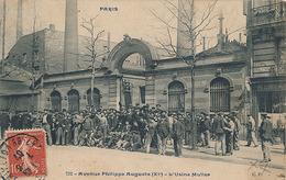 PARIS - N° 732 - AVENUE PHILIPPE AUGUSTE - L'USINE MULLER - Arrondissement: 11