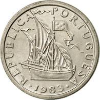 Monnaie, Portugal, 2-1/2 Escudos, 1983, SPL, Copper-nickel, KM:590 - Portugal