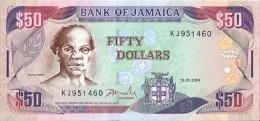 JAMAIQUE - 50 Dollars 2004 - UNC - Jamaique