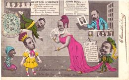 Caricature Deutsch Hyménée John Bull - Humor