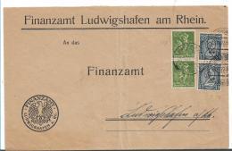 Republik XX013 / Portopflichtige Finanz-Dienstsache Mit Dientst/Freimaken Frankiert 23.12.22 Ludwigshafen - Allemagne