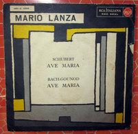 """MARIO LANZA AVE MARIA  COVER NO VINYL 45 GIRI - 7"""" - Accessori & Bustine"""