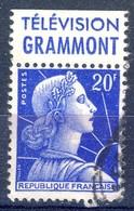 +France Advertising [227]. Yvert 1011B, GRAMMONT, Braun 1332. Used - Advertising