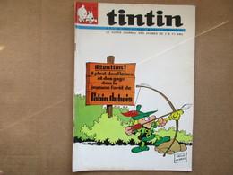 Tintin Le Super Journal Des Jeunes De 7 à 77 Ans  (N° 23 / 1969) 24° Année Édition Belge - Altri