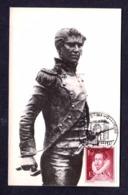 7.- SPAIN ESPAGNE 1958 MAXIMUM CARD LUIS DAOIZ SPANISH MILITARY ON 2 MAY 1808 IN MADRID NAPOLEONIC WARS - Napoleon