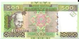 GUINEE - 500 Francs Guinéens - 2006 UNC - Guinea