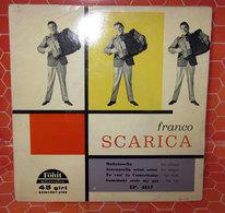 """FRANCO SCARICA  COVER NO VINYL 45 GIRI - 7"""" - Accessori & Bustine"""