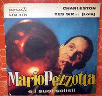 "MARIO PEZZOTTA CHARLESTON  COVER NO VINYL 45 GIRI - 7"" - Accessori & Bustine"