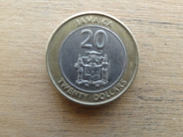 Jamaique  20  Dollars  2001  Km 182 - Jamaica