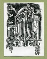 DECARIS : SIGNE DU ZODIAQUE  - ASTROLOGIE - EX-LIBRIS - Prints & Engravings