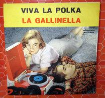 """VIVA LA POLKA LA GALLINELLA  COVER NO VINYL 45 GIRI - 7"""" - Accessori & Bustine"""