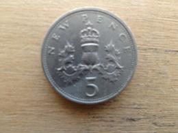 Grande-bretagne  5 New Pence  1979  Km 911 - 1971-… : Monnaies Décimales