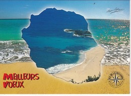 4 Belles Cartes Postales Neuves De  LA REUNION: Ed. Noor Akhoum - La Réunion