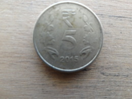 Inde  5  Rupees  2015  Km !!! - India