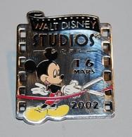 DLRP - Walt Disney Studios Park Paris - 16 MARS 2002 (Mickey Cutting Ribbon) LE 3000 - Disney
