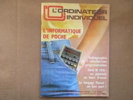 """L'ordinateur Individuel """"L'informatique De Poche"""" (N° 7 /  Mai 1979) - Livres, BD, Revues"""
