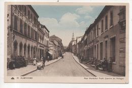 57.238/ ALGRANGE - Rue Maréchal Foch - Frankreich
