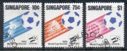 Singapore 1982 World Cup Soccer FU - Singapore (1959-...)