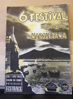 MONDOSORPRESA, (LB20)  6° FESTIVAL DELLA CANZONE NAPOLETANA -ANNO IV N° 6 DEL 1958 - Musique