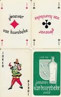 "Eekloo "" Van Hoorebeke - Jenever ""' Volledig Spel Kaarten In Tasje + 2 Jokers - Alcohols"