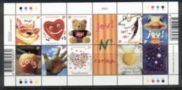 Singapore 2003 Joy && Caring Sheetlet MUH - Singapore (1959-...)