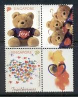 Singapore 2003 Joy, Togetherness Teddy Bear MUH - Singapore (1959-...)