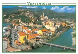 Cartolina Ventimiglia Marina S.Giuseppe Fiume Roia - Imperia