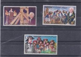 COMORES   :  Bicentenaire De La Révolution Française  506 A à 506 C  Neuf XX  Philexfrance 89 - Révolution Française