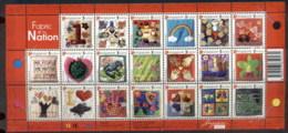 Singapore 2005 Fabric Of The Nation Sheetlet MUH - Singapore (1959-...)