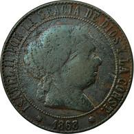 Monnaie, Espagne, Isabel II, 5 Centimos, 1868, Madrid, TB+, Cuivre, KM:635.1 - [ 1] …-1931 : Kingdom