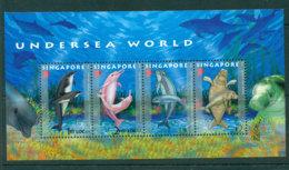 Singapore 2006 Undersea World MS MUH Lot24504 - Singapore (1959-...)