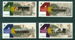 Singapore 2007 40 Years Of National Service MUH Lot23504 - Singapore (1959-...)