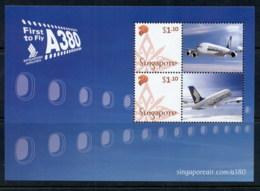 Singapore 2007 Airbus A380 Singapore Airlines MS MUH - Singapore (1959-...)