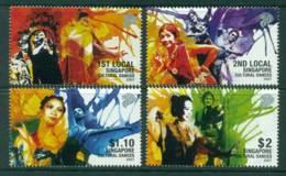 Singapore 2007 Cultural Dancers MUH Lot23502 - Singapore (1959-...)